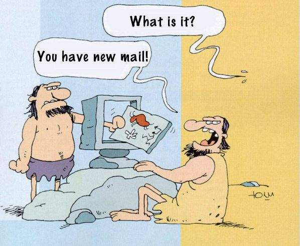 vous avez un e-mail