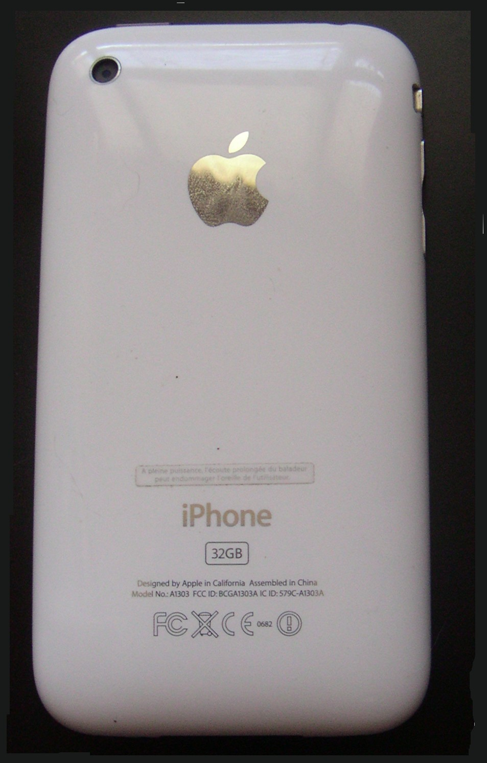 l'iPhone 32Go Blanc